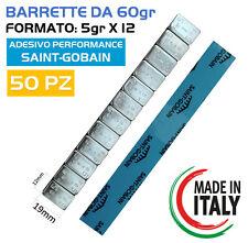 50 Barrette Pesi adesivi per equilibratura cerchi in LEGA Contrappesi (5GRX12)