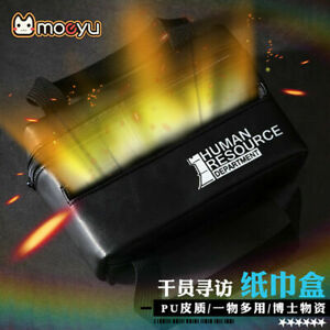 Anime Arknights Tissue Box Leather Storage Bags Handbag Holiday Gift Cosplay