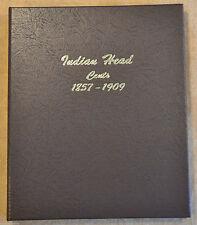 Dansco Indian Head Cents 1857-1909 Album #7101