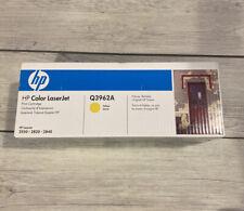 Genuine HP Colour Laserjet Q3962A 2550/2820/2840 Cartucho De Tóner Amarillo Series