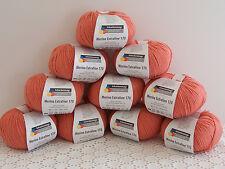 500g (33,00€/kg) Schachenmayr Wollpaket Merino Extrafine 170 Fb34 koralle