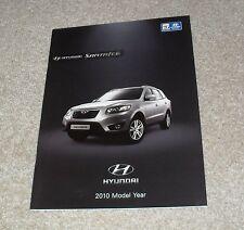 Hyundai Santa Fe Brochure 2010 - 2.2 CRDI Style & Premium