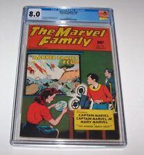Marvel Family #20 - 1948 Fawcett Golden Age issue - CGC VF 8.0