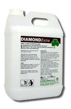 Clover Diamond Extra 5Ltr Floor Polish Wet Look Shine Non-Slip Vinyl Marble