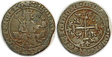 PROVENCE  CHARLES II D'ANJOU Carlin d'argent Naples  PA3974