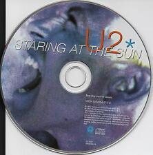 U2 RARE CD STARING AT THE SUN NEW UNPLAYED