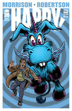 Happy #1 (RARE Allred Variant Edition, Image Comics) First Print