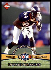1998 Collector's Edge Super Bowl Xxxii #3 Shannon Sharpe Broncos Nm-Mt *98