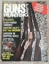 Vintage Gun Plus Hunting February 1972 - Black-Powder Jamboree, Knives
