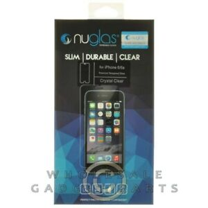 NuGlas Apple iPhone 6/6S Tempered Glass Screen Protector Glass