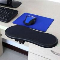 1× Hand Arm Support Bracket Pallet Rack Wrist Rest Armrest Computer Mouse Pad mm