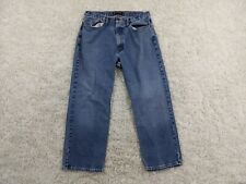 Vintage Polo Jeans Company Mens 36x30 Blue Light Wash Boot Cut Woodrow