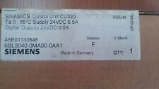 SIEMENS SINAMICS CONTROL UNIT CU320 6SL3040-0MA00-0AA1