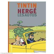 "TINTIN, Tim und Struppi : Hergé et les Autos"" : Editions Moulinsart, HC neu"