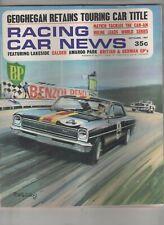 Racing Car News 1967 Sep Holden 186S German British GP Elfin Type 300 Lakeside C