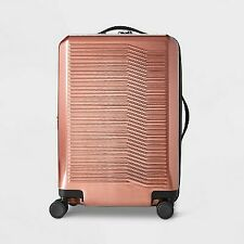 Hardside 21 Carry On Spinner Suitcase Rust - Open Story