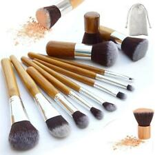 11 pcs Make up Brush Makeup Brushes Eyeshadow Eyeliner Powder Foundation Set UK