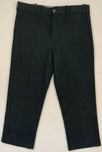 """codet vintage canada green melton wool cold weather hunting pants 38 37.5"""" x 26"""""""
