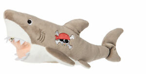 "Mary Meyer Scallywag Gray Shark Plush Toy, 8"""