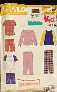 Simplicity New Look Sewing Pattern Tod / Child Cozywear 6406