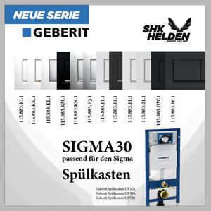 Geberit Abdeckplatte Sigma30  für 2-Mengen-Spülung Betätigungsplatte