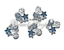 5pc Nail Art Charms 3D Nail Rhinestones Decoration Jewelry DIY Bling - C189