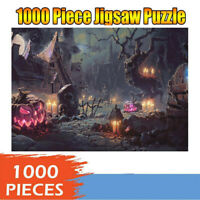 1000 Piece Adult Kid Halloween Jigsaw Puzzles Child Gift Educational Game Toy US