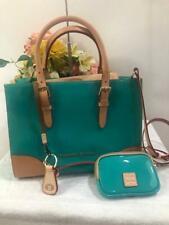 nwot Dooney & Bourke Janine Patent Leather Satchel w/accesories BAG PURSE (180