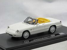 Milena Rose 1990 Alfa Romeo Spider Serie 4 Ultima weiss 1/43 Limitiert 50 Stück