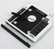 2nd HDD SSD Hard Drive Caddy Adapter for Dell M4600 M6400 M6500 M6600 3300 1340