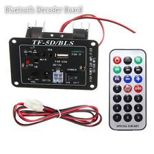 12V High Power Subwoofer MP3 Bluetooth Decoder Board Moto Coche Amplificadores