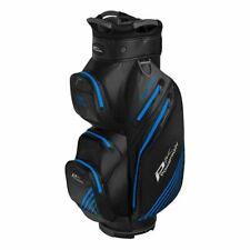 Powakaddy Dri-Tech 100% Waterproof Cart Bag 14 way Divider Black/Blue Brand New