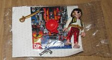 Playmobil personnage capitaine pirate Golden Sword Saber Boucles d'oreilles rayées Pantalon Gun