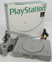 "PS1 Playstation Console System Boxed SCPH-5500 A2027938 SONY Tested ""NTSC-J"""