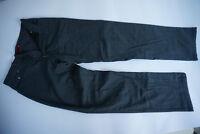 PIERRE CARDIN 3213 Avignon Herren Thermo Jeans Hose Gr.50 W34 L34 grau kariert