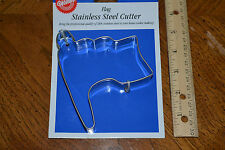 WILTON oversized stainless steel flag cookie cutter - New.