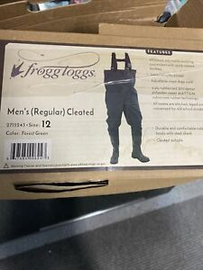 frogg toggs waders Size 12