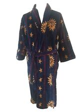 Bown of london luxury dressing gown, size small 100% velour cotton