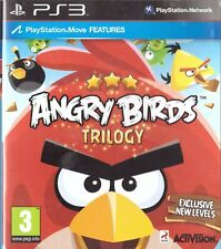 Angry Birds Trilogy Sony Playstation 3 PS3 3+ Puzzle Game