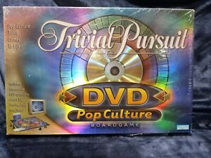 2003 Trivial Pursuit Pop Culture Edition DVD Board Game NEW Sealed