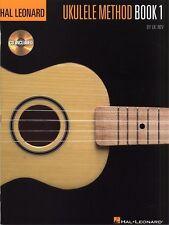 Hal Leonard Ukulele Method Book 1 Tab Music Book/cd Beginner Learn How to Play