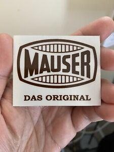 MAUSER DAS ORIGINAL STICKER OEM