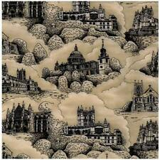 Fat Quarter English Cathedrals Printed Cotton Quilting Fabric