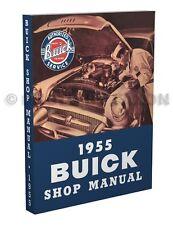 1955 Buick Shop Manual 55 Special Century Super Roadmaster Service Repair Book