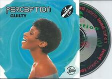 PERCEPTION - Guilty CD SINGLE 2TR CARDSLEEVE 1993 RARE!!
