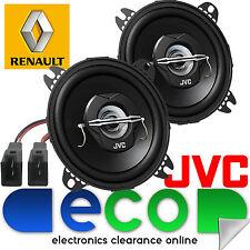 "RENAULT KANGOO Express JVC 10cm 4"" 420 Watt Anteriore Dash Altoparlanti Auto & Connettore"