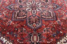 8'2 x 10'7 Fine Geometric Semi Antique Azerbaijani Handmade Wool Area Rug 8 x 11