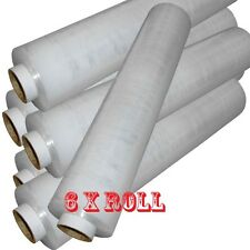 6X ROLL OF STRONG CLEAR STANDER PALLET STRETCH WRAP 400mm X 250m Cling Film D743