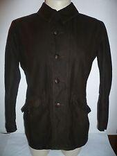 C46 Sueco Vintage Marrón Campo/chaqueta militar, medio