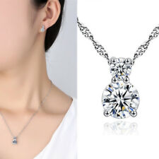 Mothers Day Gift 925 Sterling Silver Small Round Pendant Necklace Gift for MOM